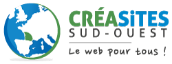 Logo CréaSites Sud-Ouest website creation Bordeaux