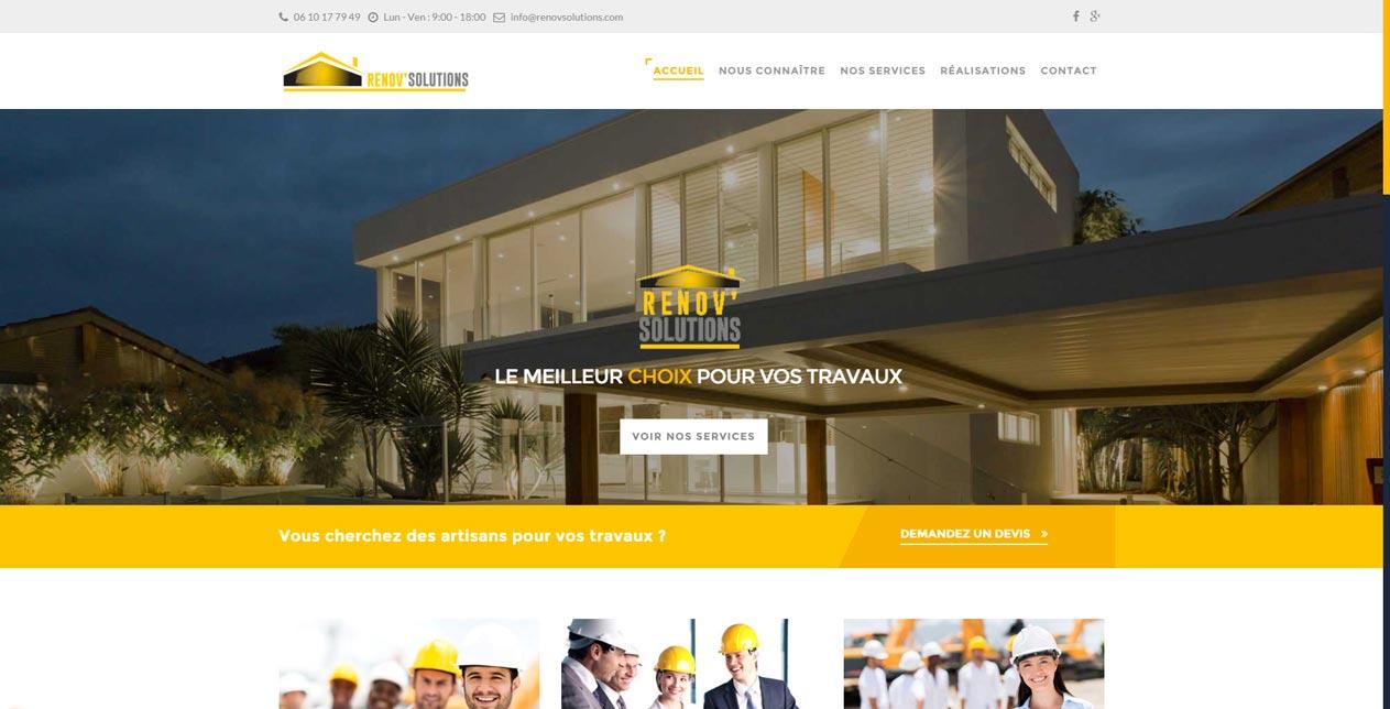 site r nov 39 solutions cr ation de site internet bordeaux. Black Bedroom Furniture Sets. Home Design Ideas