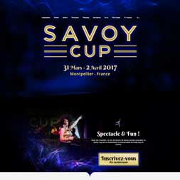 Web Agency for the SavoyCup website