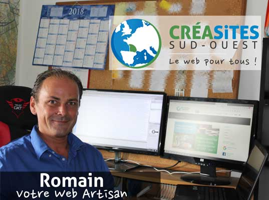 Romain is the director of your web agency in Bordeaux